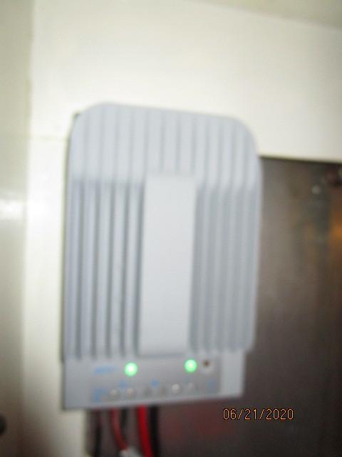 54' Ocean Alexander solar power controller