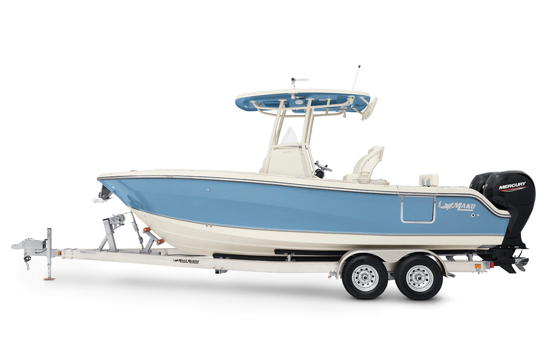 2022 Mako boat for sale, model of the boat is 236 CC & Image # 3 of 3