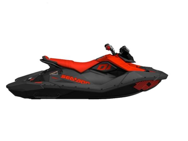 2021 Sea Doo PWC boat for sale, model of the boat is Spark® Trixx™ 3-up Rotax® 900 H.O. ACE™ IBR & Sound System & Image # 1 of 1