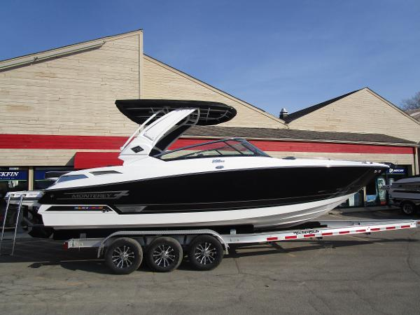 2021 Monterey boat for sale, model of the boat is 298SS & Image # 1 of 41