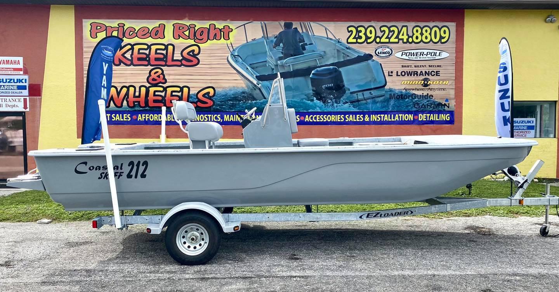 2021 Four Sons Marine Coastal 212 Skiff