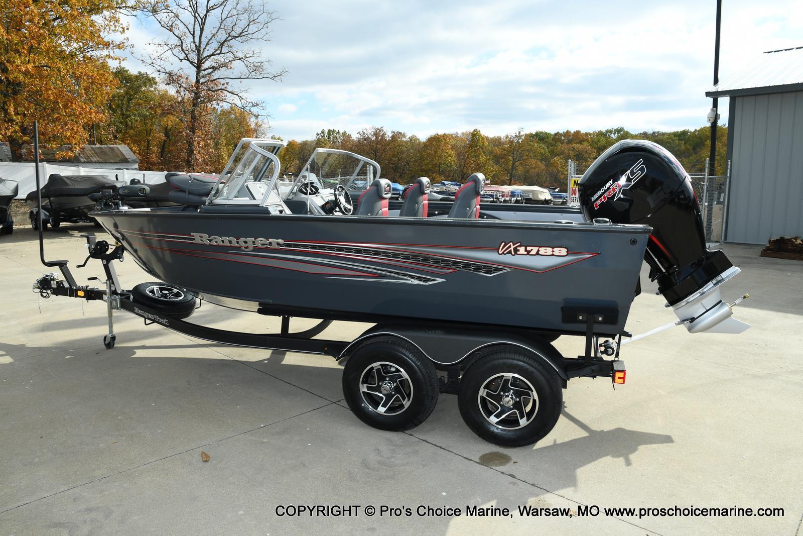 2021 Ranger Boats boat for sale, model of the boat is VX1788 WT w/150HP Pro-XS 4 Stroke & Image # 41 of 50