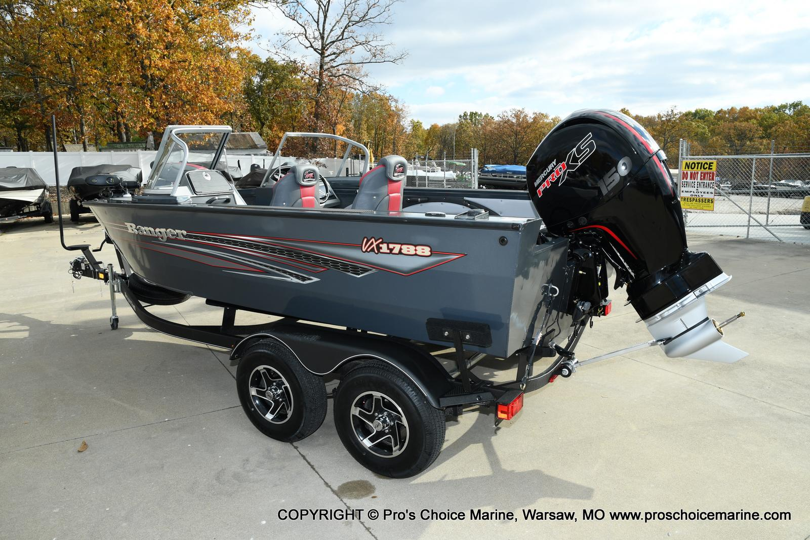 2021 Ranger Boats boat for sale, model of the boat is VX1788 WT w/150HP Pro-XS 4 Stroke & Image # 49 of 50