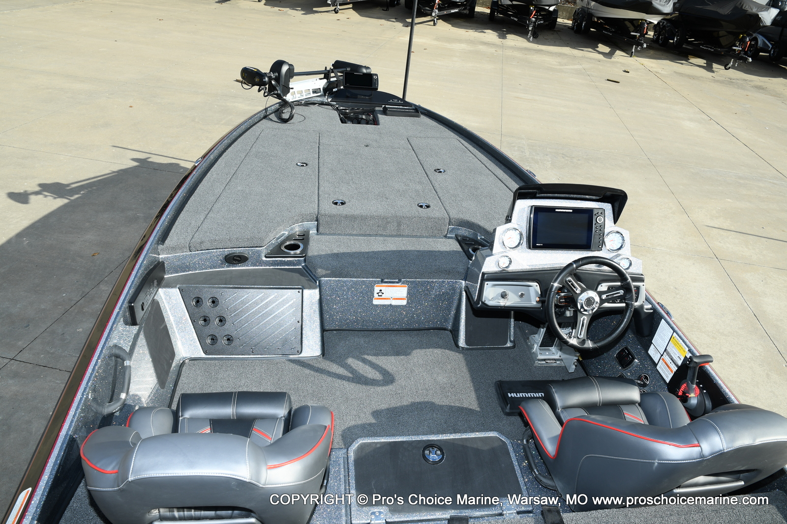 2021 Nitro boat for sale, model of the boat is Z20 PRO PACKAGE & Image # 21 of 50