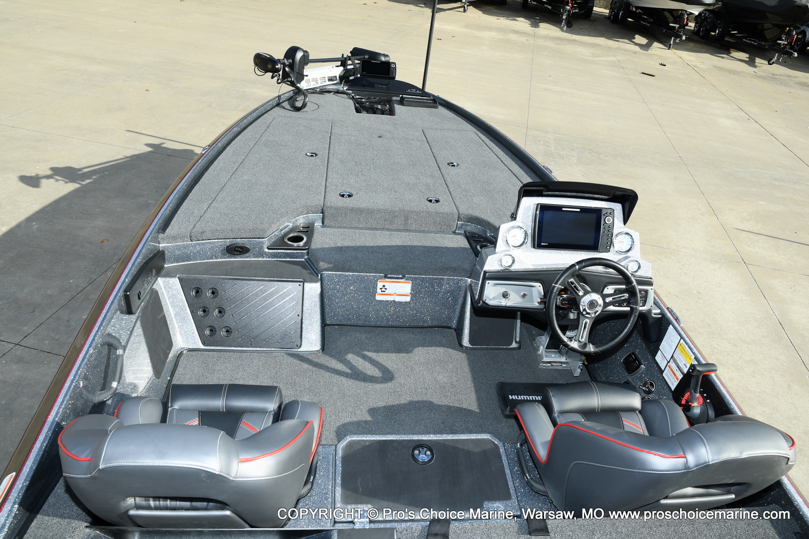 2021 Nitro boat for sale, model of the boat is Z20 PRO PACKAGE & Image # 8 of 50