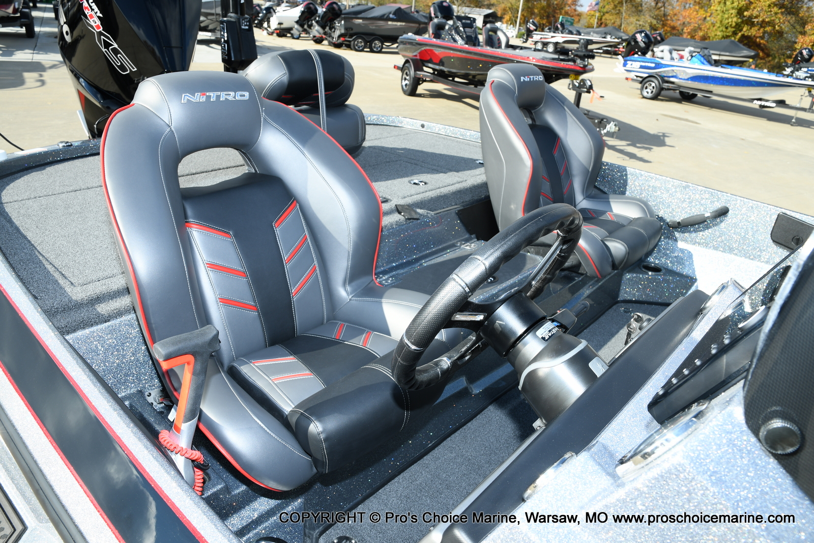 2021 Nitro boat for sale, model of the boat is Z20 PRO PACKAGE & Image # 30 of 50