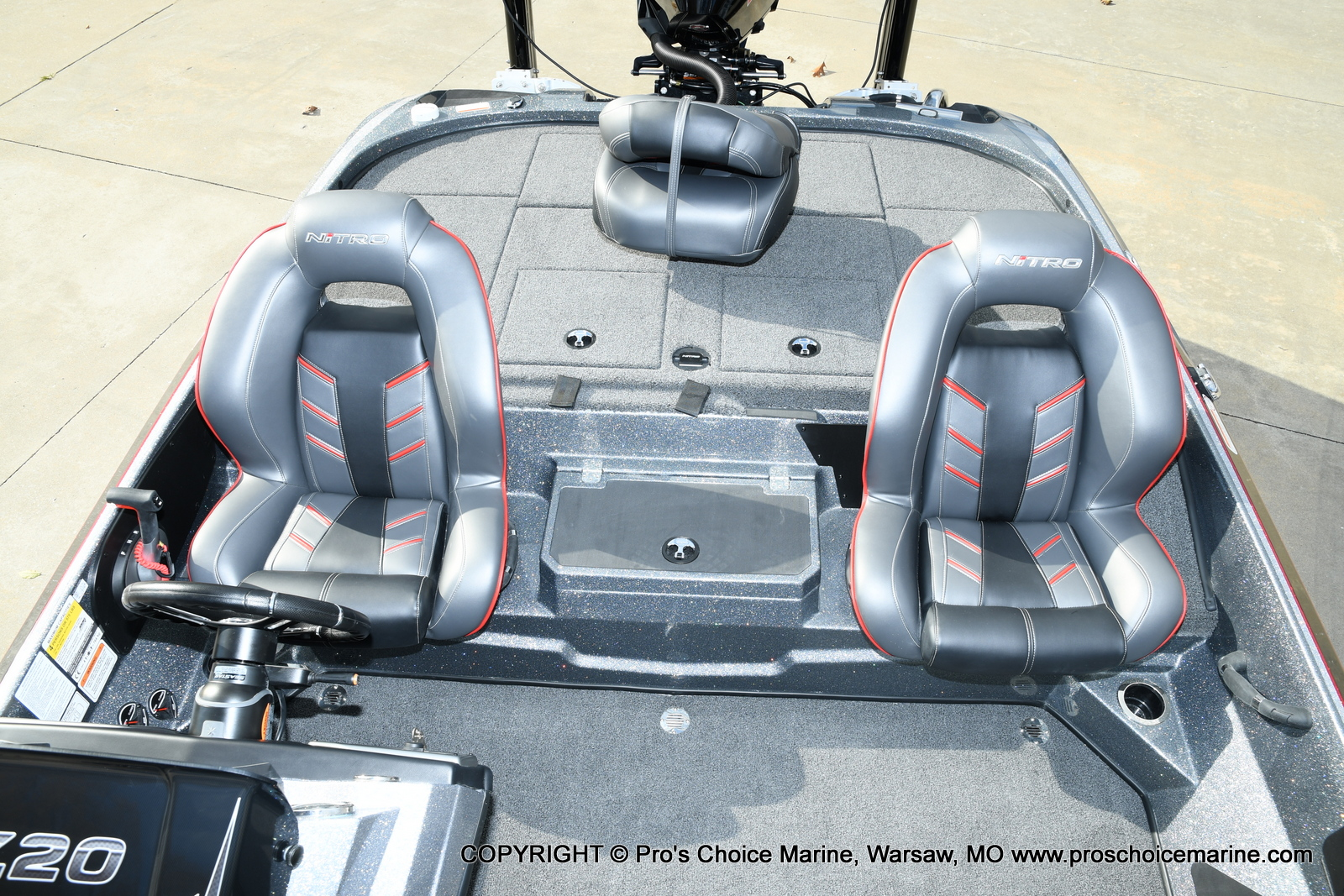 2021 Nitro boat for sale, model of the boat is Z20 PRO PACKAGE & Image # 40 of 50