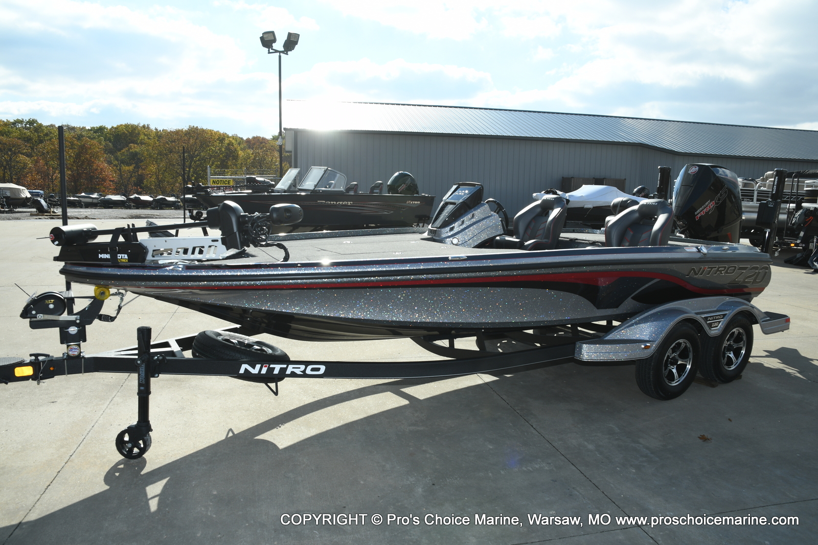 2021 Nitro boat for sale, model of the boat is Z20 PRO PACKAGE & Image # 50 of 50