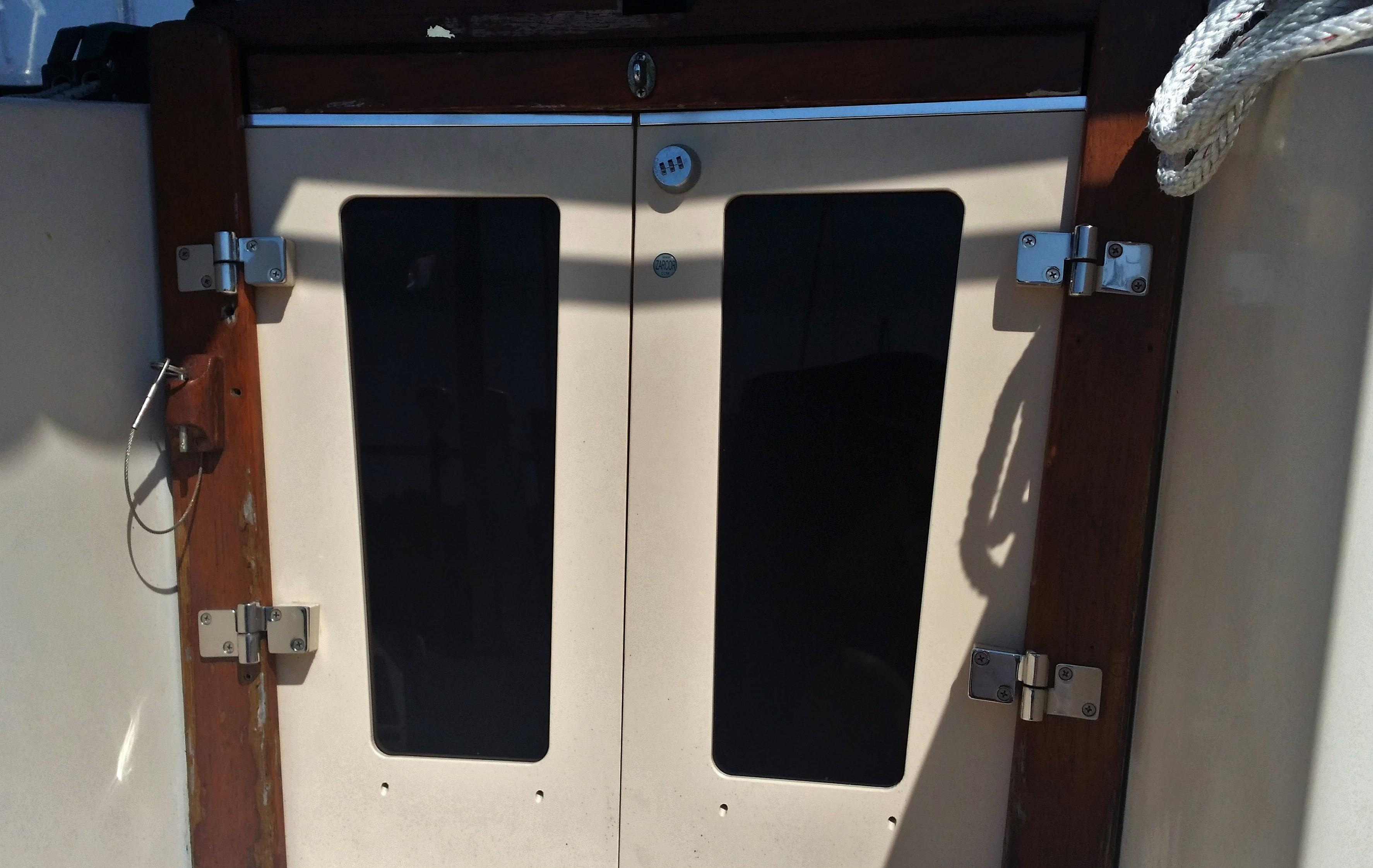 Companionway Cafe Doors