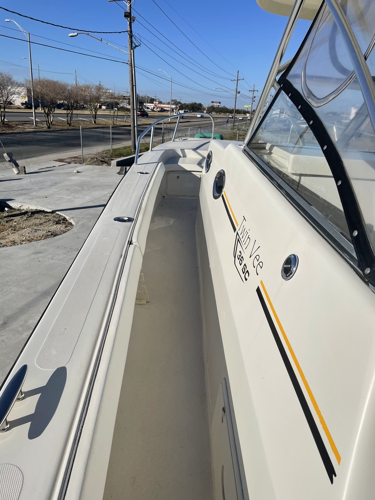 2008 Twin Vee boat for sale, model of the boat is 36 SC & Image # 7 of 17