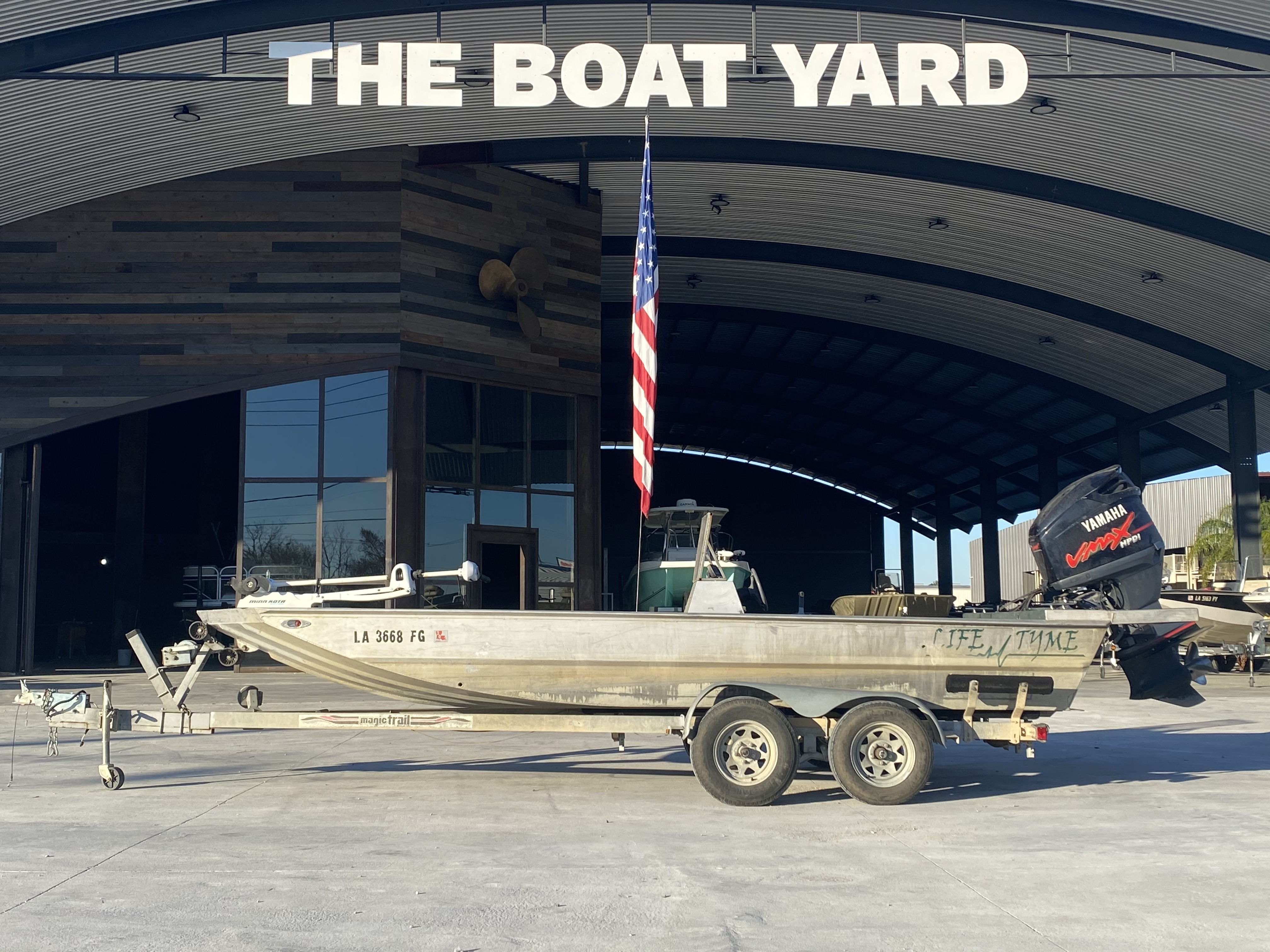 2002 Life Tyme boat for sale, model of the boat is 195 & Image # 1 of 13