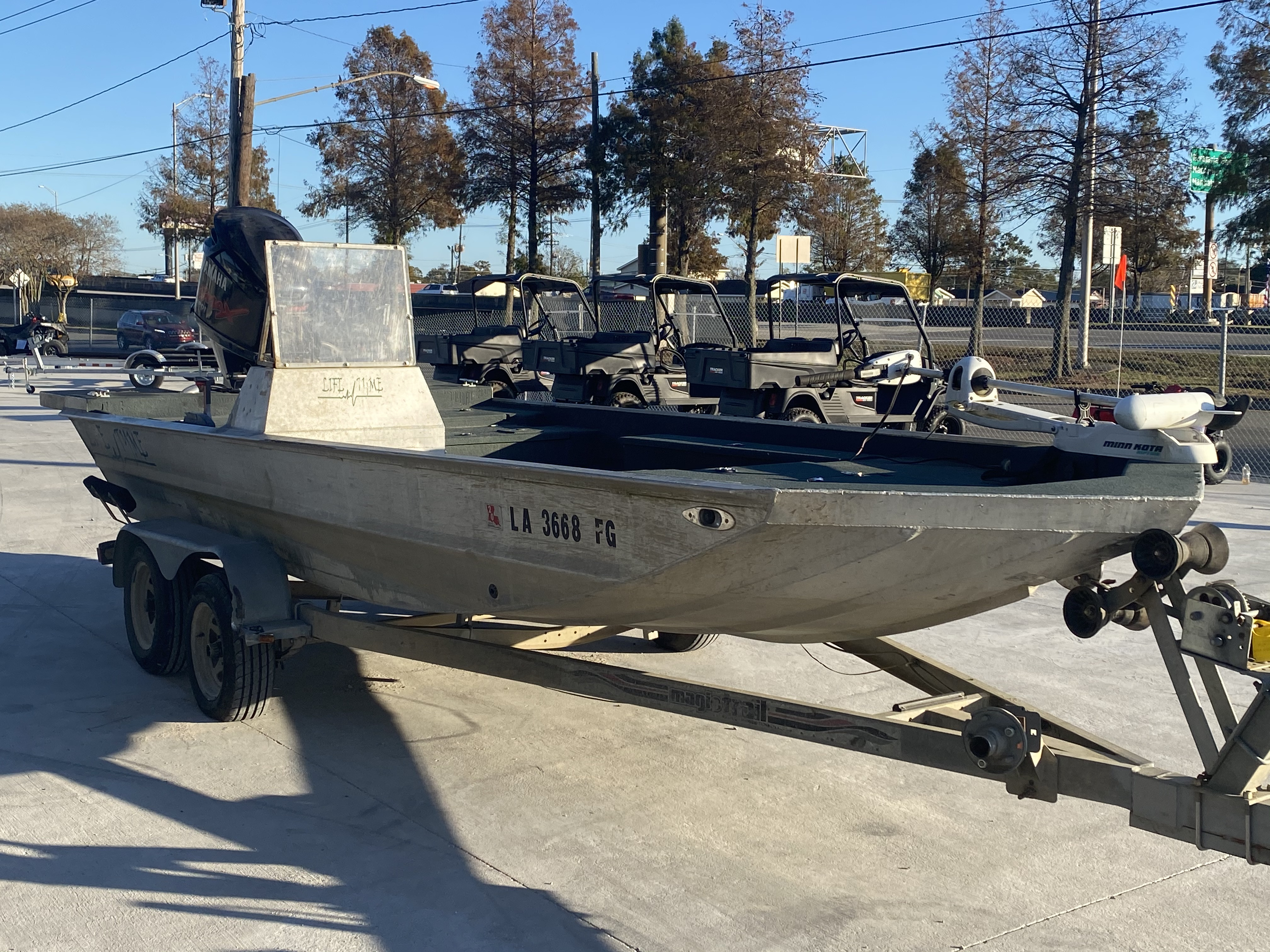 2002 Life Tyme boat for sale, model of the boat is 195 & Image # 2 of 13