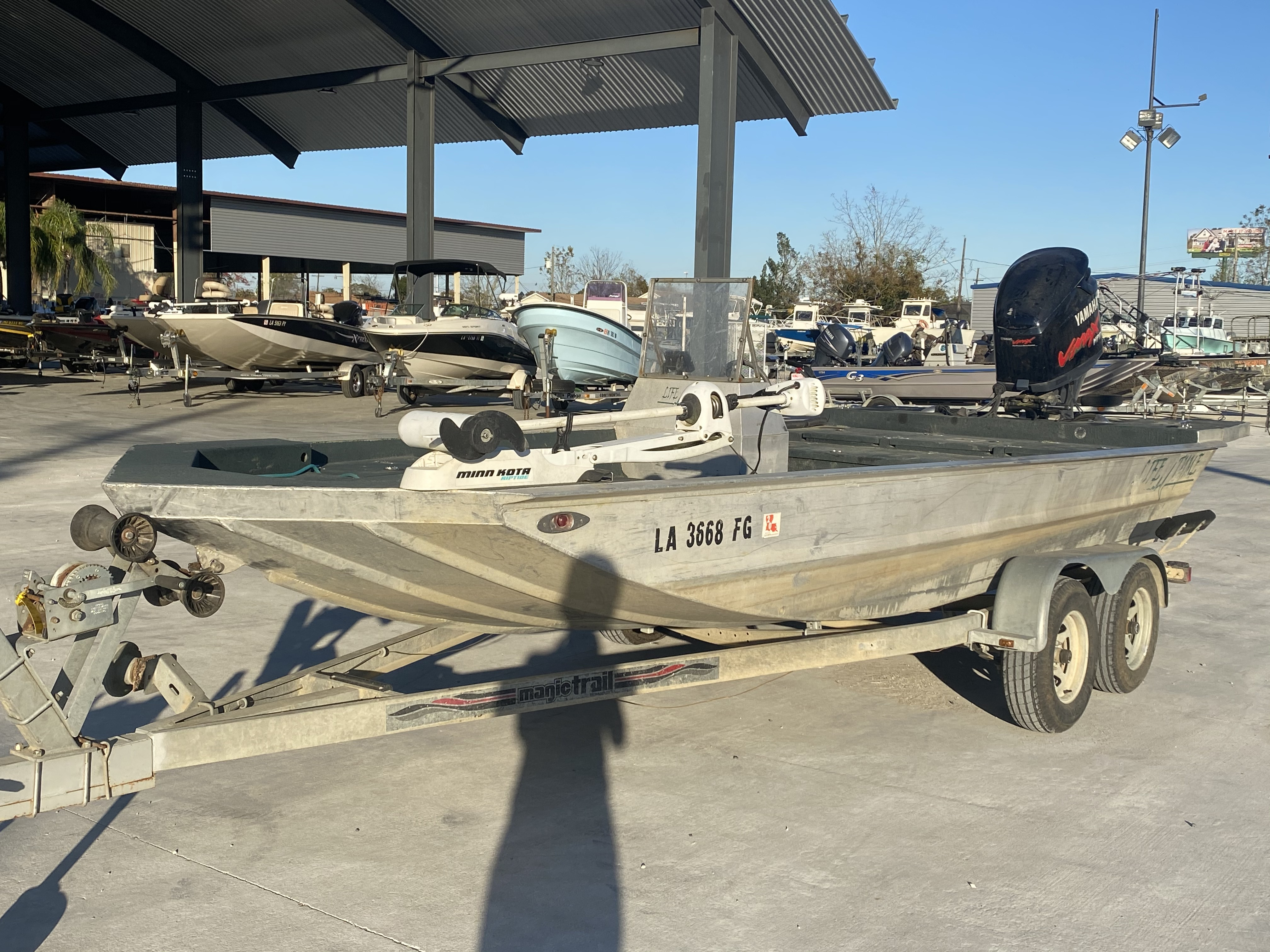 2002 Life Tyme boat for sale, model of the boat is 195 & Image # 3 of 13