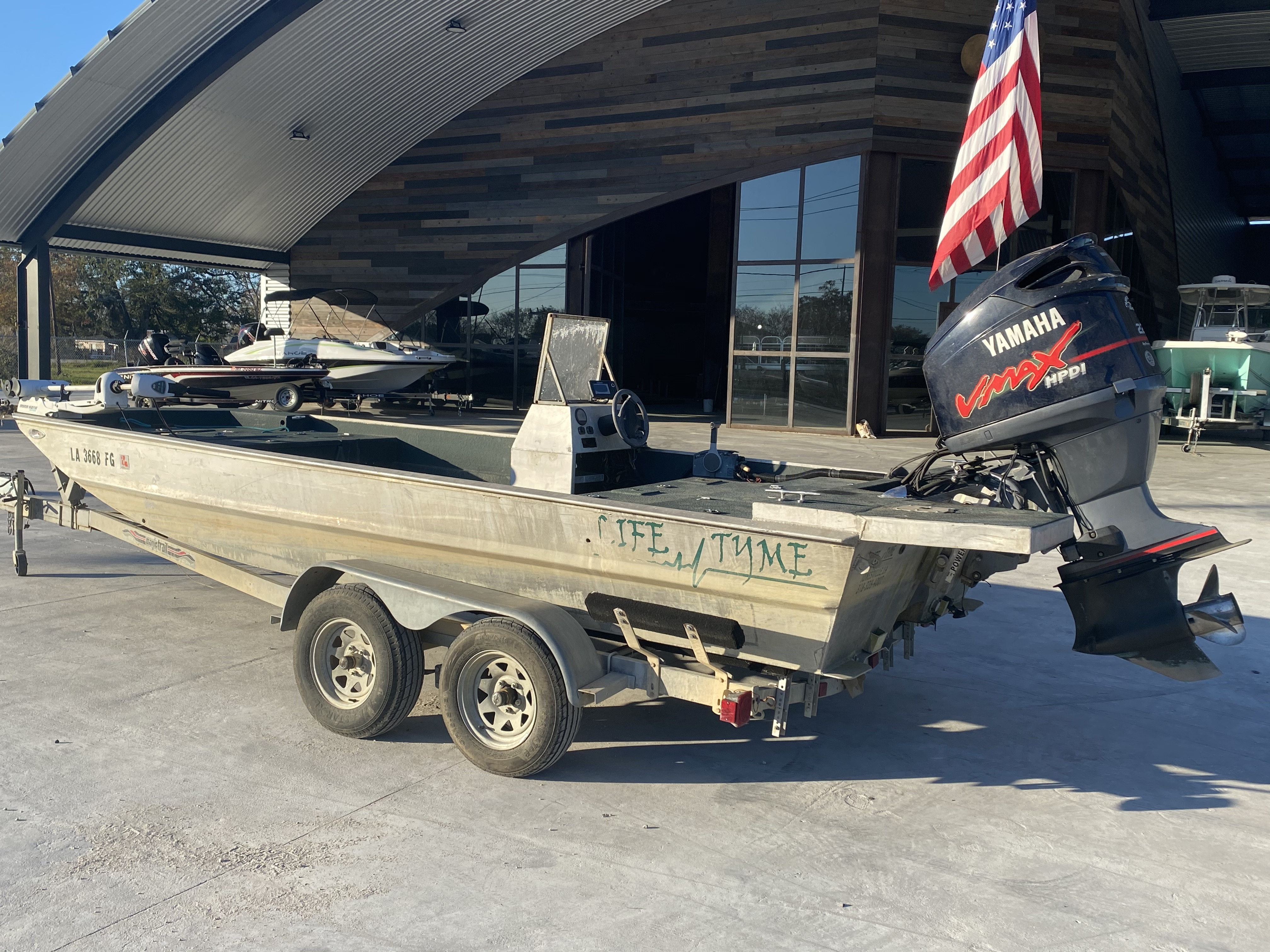 2002 Life Tyme boat for sale, model of the boat is 195 & Image # 10 of 13