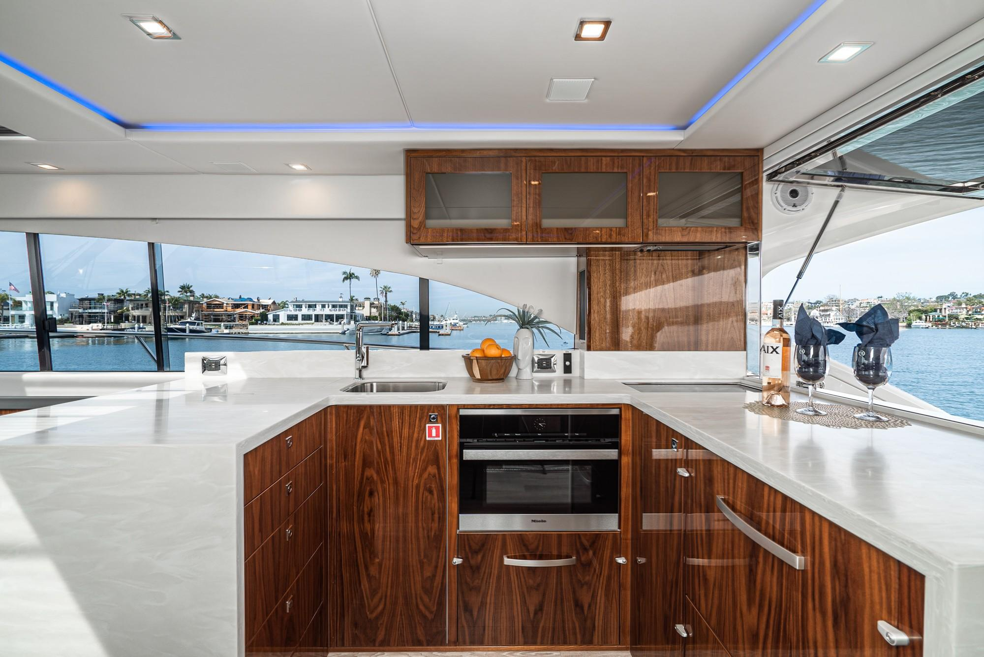 2020 Riviera 5400 Sport Yacht #R076 inventory image at Sun Country Coastal in Newport Beach