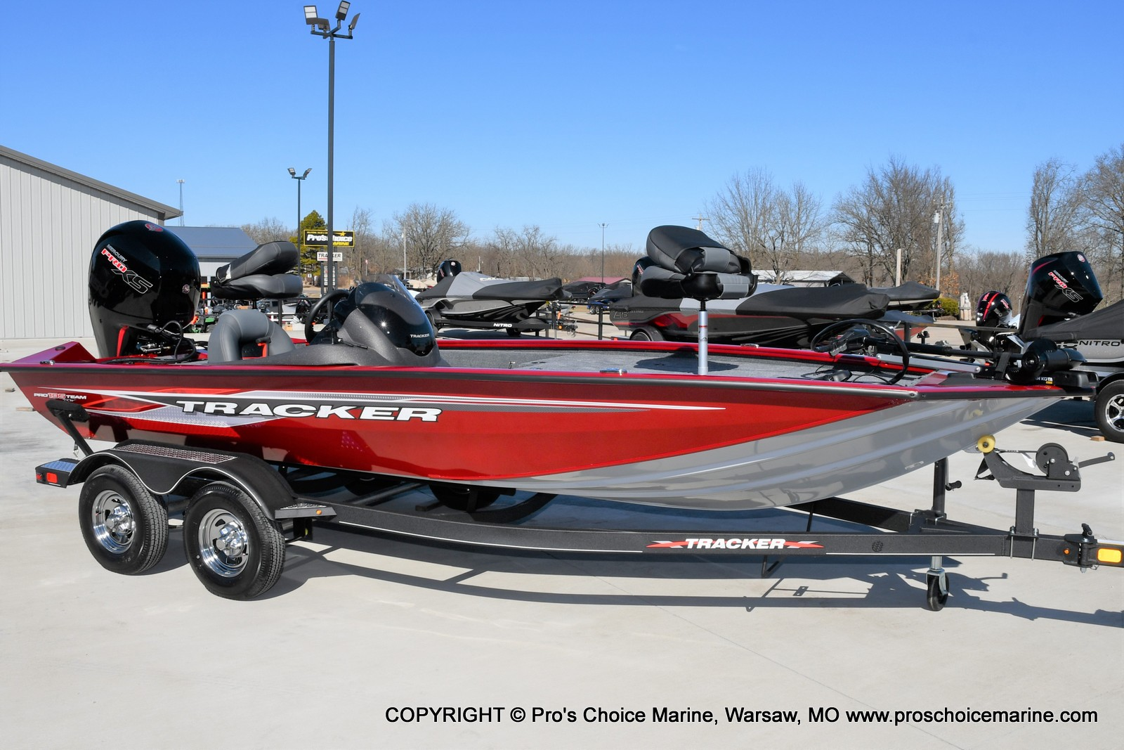 2022 Tracker Boats boat for sale, model of the boat is PRO TEAM 195 TXW w/150HP Pro-XS & Image # 1 of 50