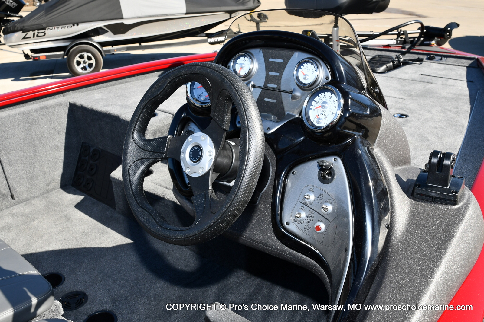 2022 Tracker Boats boat for sale, model of the boat is PRO TEAM 195 TXW w/150HP Pro-XS & Image # 5 of 50