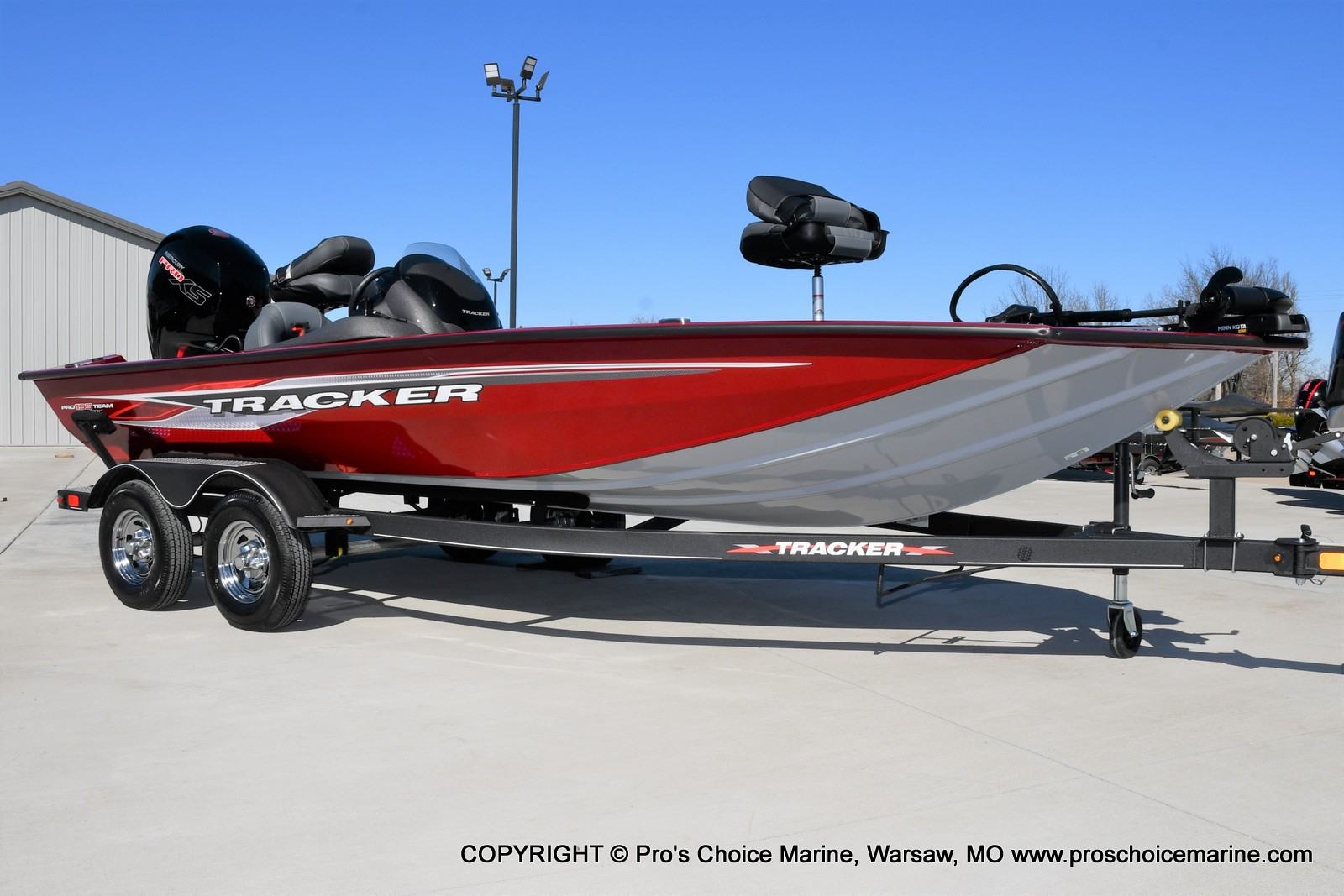 2022 Tracker Boats boat for sale, model of the boat is PRO TEAM 195 TXW w/150HP Pro-XS & Image # 15 of 50