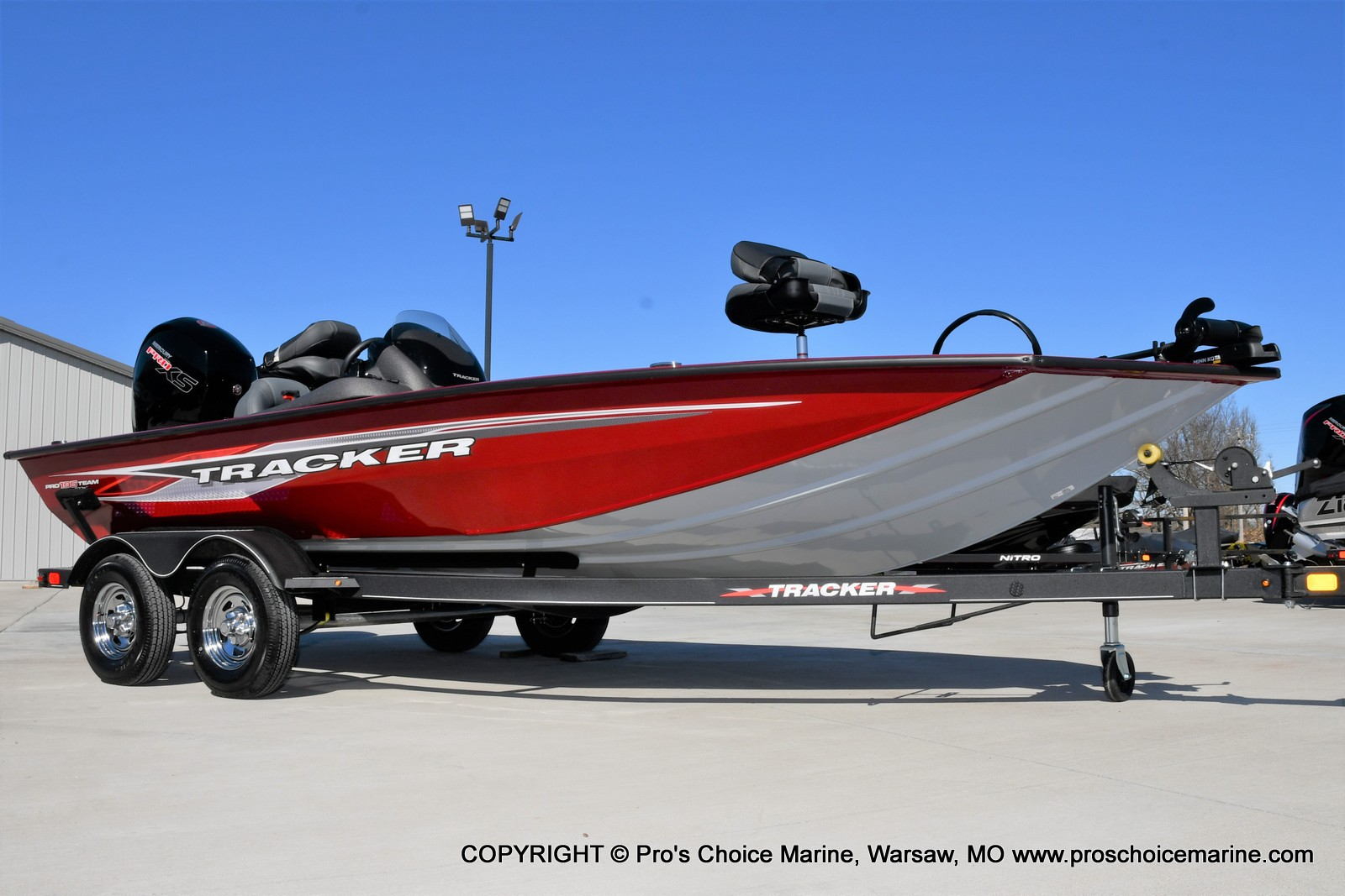 2022 Tracker Boats boat for sale, model of the boat is PRO TEAM 195 TXW w/150HP Pro-XS & Image # 16 of 50