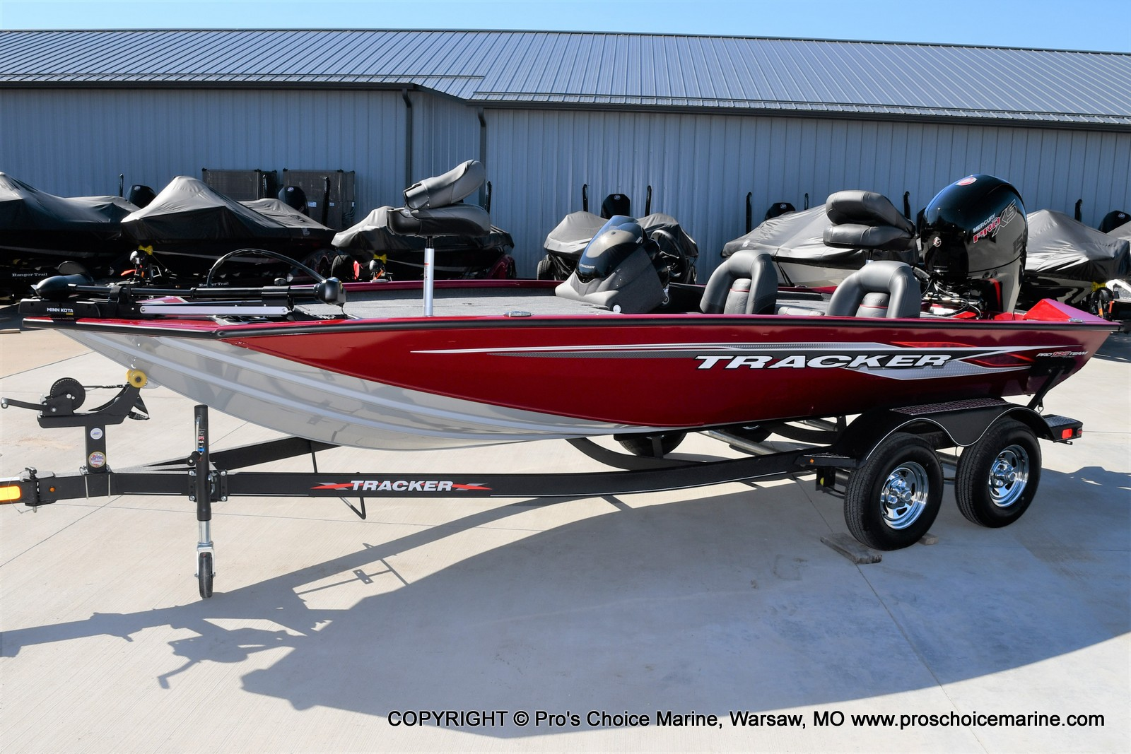 2022 Tracker Boats boat for sale, model of the boat is PRO TEAM 195 TXW w/150HP Pro-XS & Image # 19 of 50