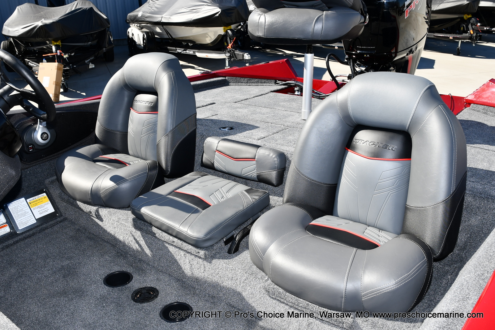 2022 Tracker Boats boat for sale, model of the boat is PRO TEAM 195 TXW w/150HP Pro-XS & Image # 32 of 50