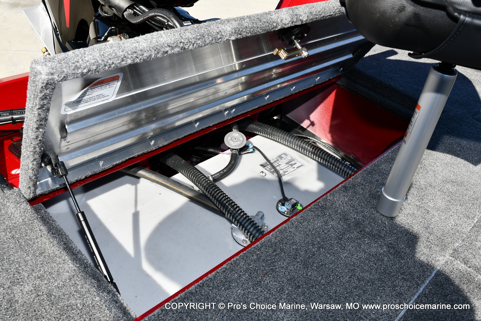 2022 Tracker Boats boat for sale, model of the boat is PRO TEAM 195 TXW w/150HP Pro-XS & Image # 36 of 50