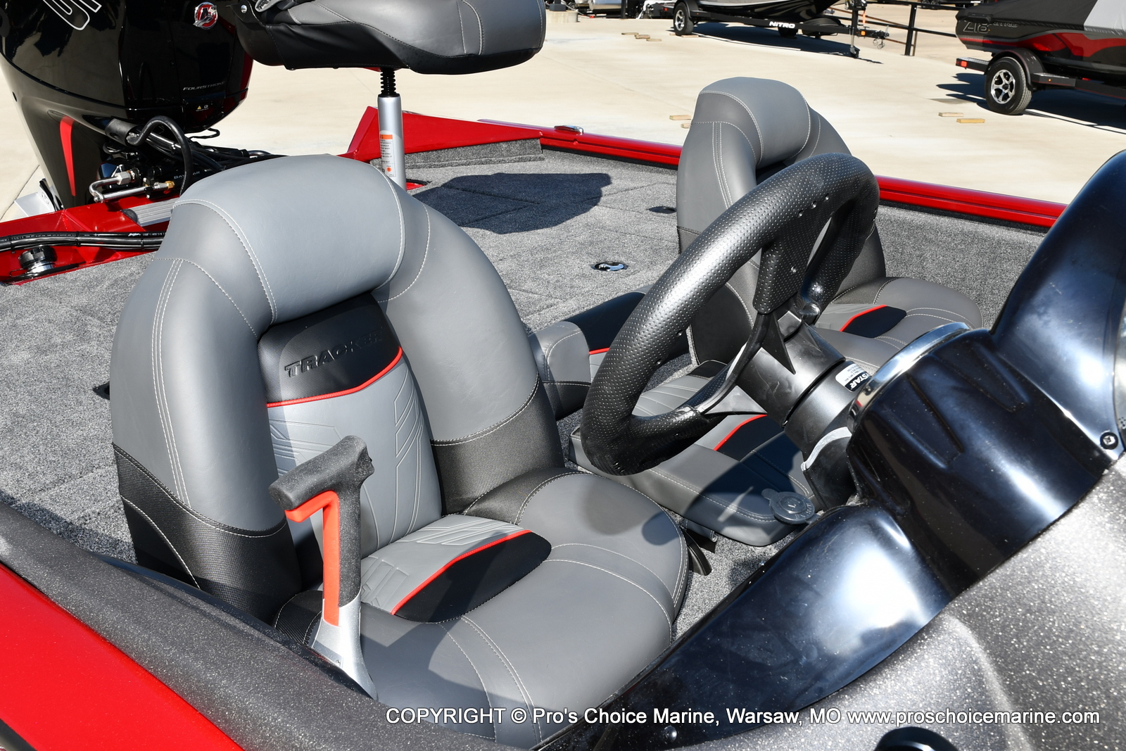 2022 Tracker Boats boat for sale, model of the boat is PRO TEAM 195 TXW w/150HP Pro-XS & Image # 38 of 50