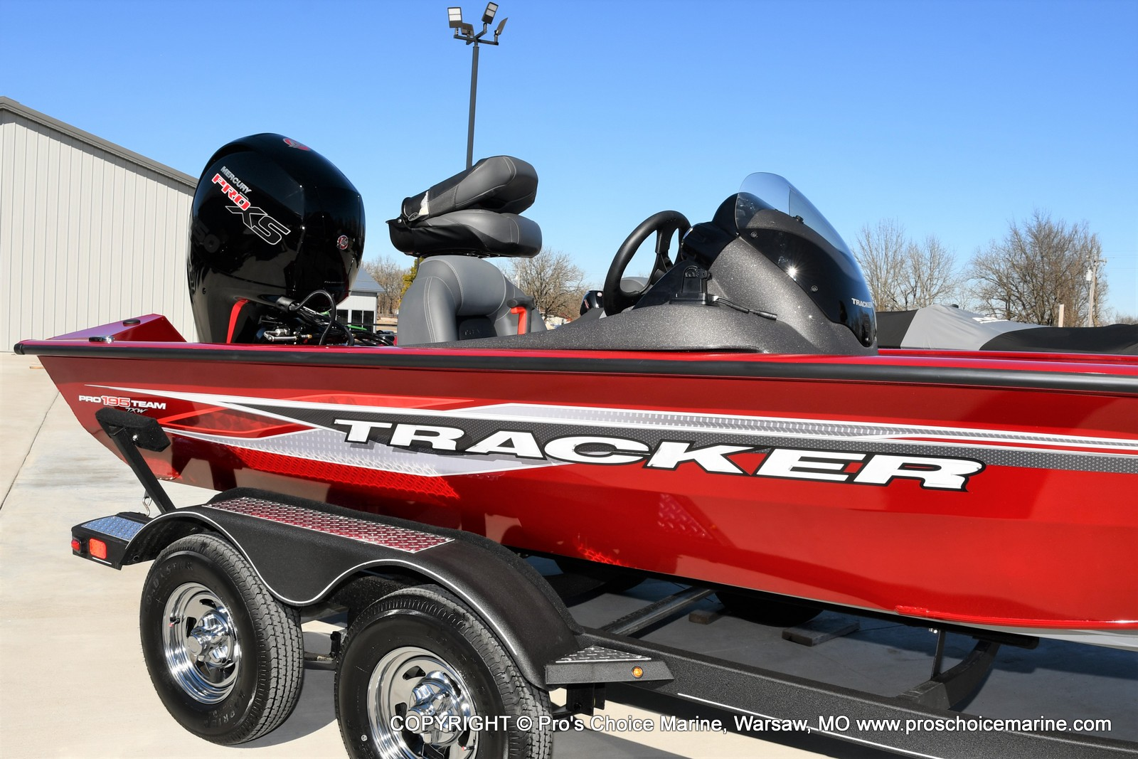 2022 Tracker Boats boat for sale, model of the boat is PRO TEAM 195 TXW w/150HP Pro-XS & Image # 45 of 50