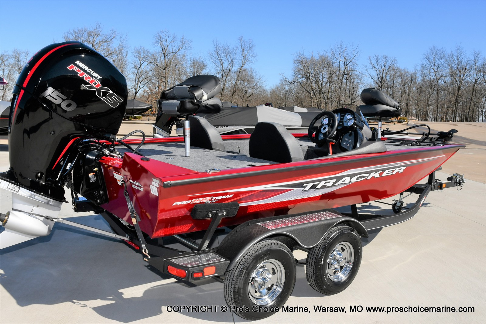 2022 Tracker Boats boat for sale, model of the boat is PRO TEAM 195 TXW w/150HP Pro-XS & Image # 46 of 50