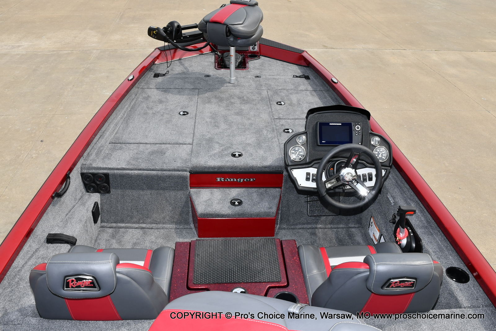2021 Ranger Boats boat for sale, model of the boat is RT188P w/115HP Pro-XS CT & COIN BOX & Image # 10 of 50