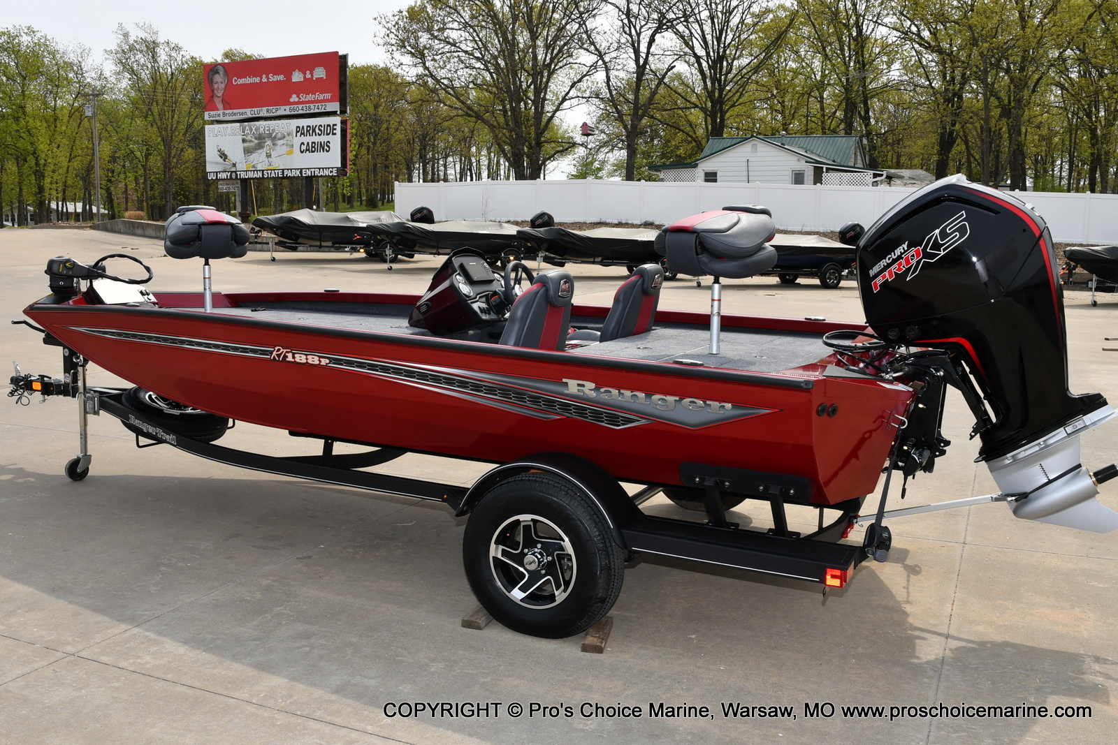 2021 Ranger Boats boat for sale, model of the boat is RT188P w/115HP Pro-XS CT & COIN BOX & Image # 4 of 50