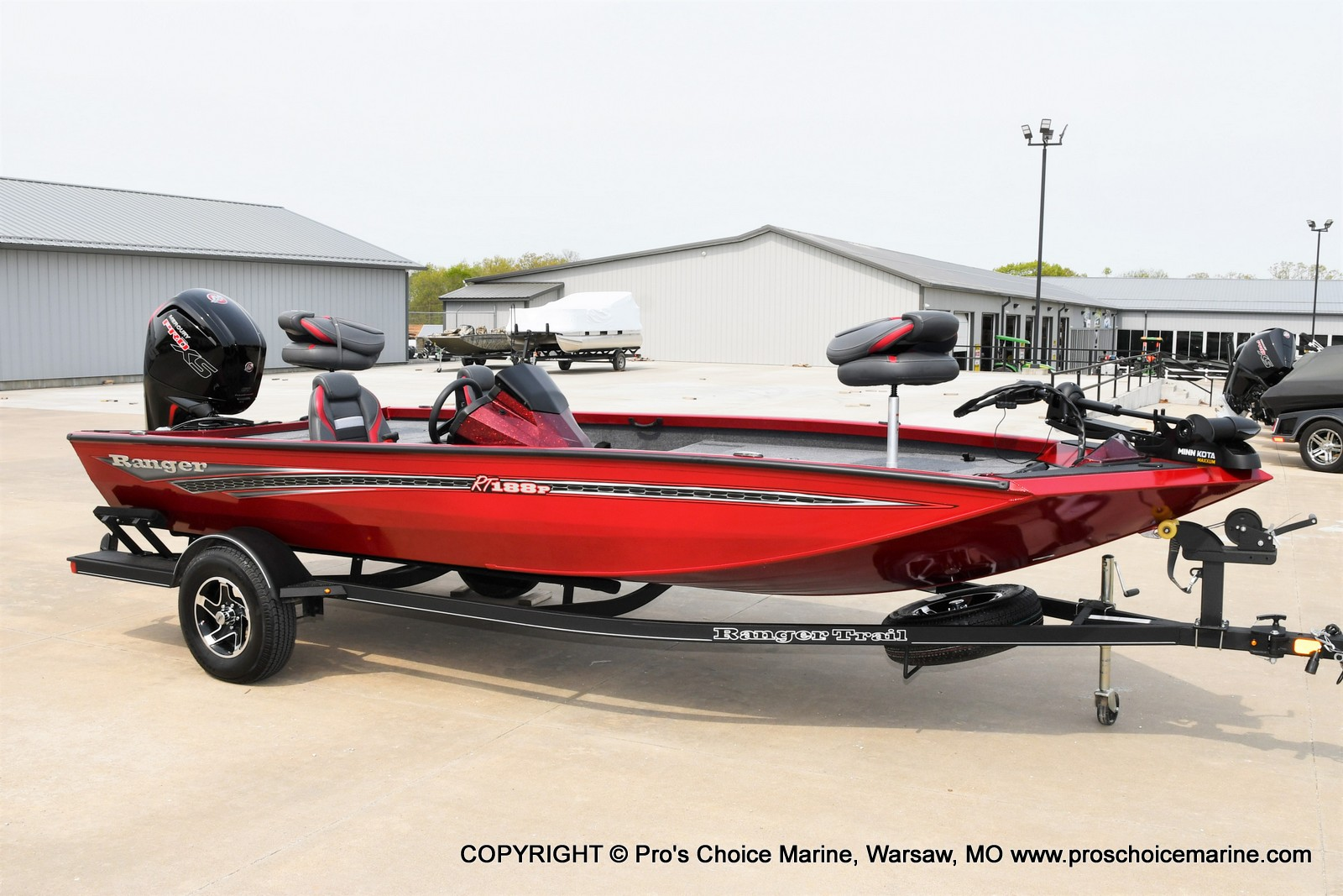 2021 Ranger Boats boat for sale, model of the boat is RT188P w/115HP Pro-XS CT & COIN BOX & Image # 39 of 50