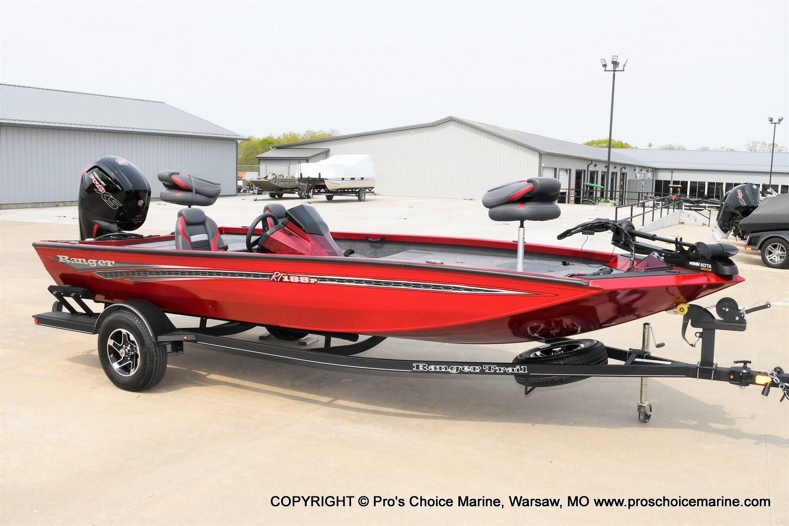 2021 Ranger Boats boat for sale, model of the boat is RT188P w/115HP Pro-XS CT & COIN BOX & Image # 40 of 50