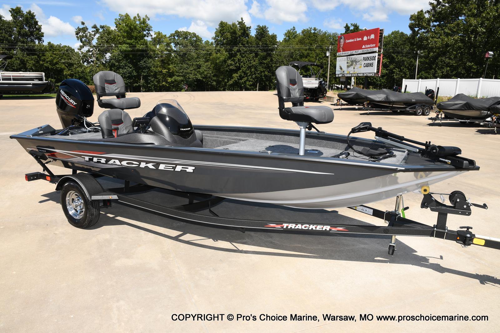 2022 Tracker Boats boat for sale, model of the boat is PRO TEAM 175 TF w/60HP Mercury 4 Stroke & Image # 12 of 50