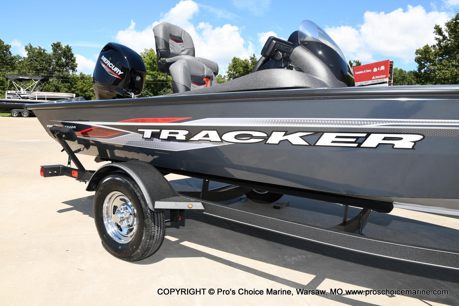 2022 Tracker Boats boat for sale, model of the boat is PRO TEAM 175 TF w/60HP Mercury 4 Stroke & Image # 14 of 50