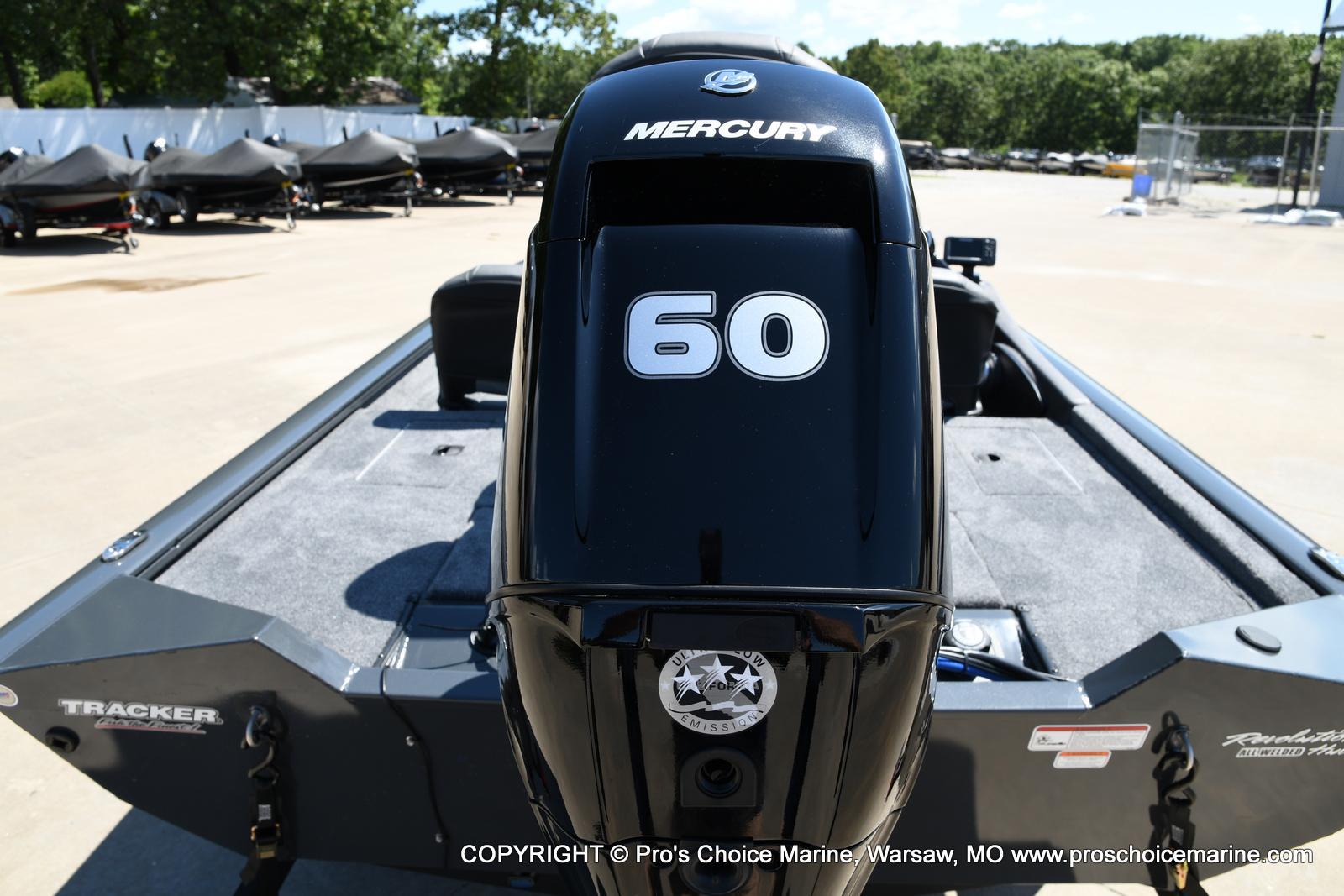 2022 Tracker Boats boat for sale, model of the boat is PRO TEAM 175 TF w/60HP Mercury 4 Stroke & Image # 3 of 50