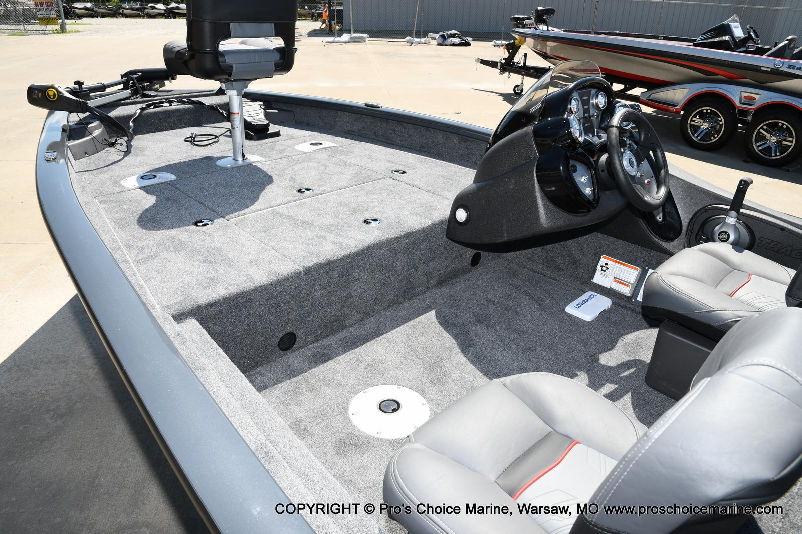 2022 Tracker Boats boat for sale, model of the boat is PRO TEAM 175 TF w/60HP Mercury 4 Stroke & Image # 6 of 50