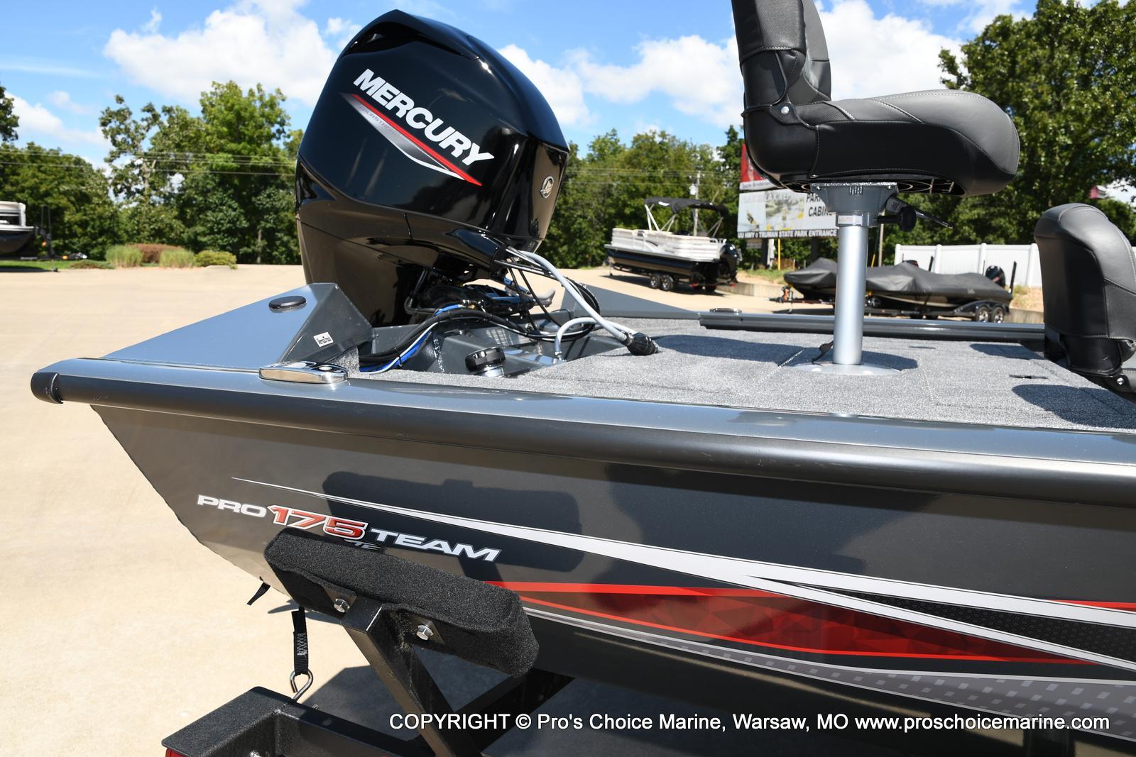 2022 Tracker Boats boat for sale, model of the boat is PRO TEAM 175 TF w/60HP Mercury 4 Stroke & Image # 25 of 50