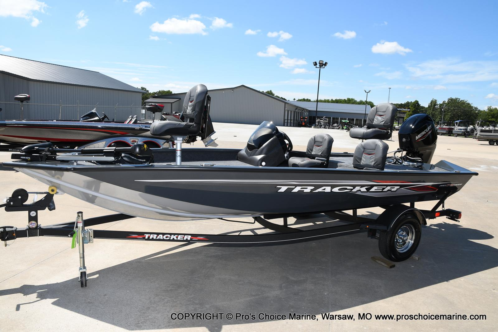 2022 Tracker Boats boat for sale, model of the boat is PRO TEAM 175 TF w/60HP Mercury 4 Stroke & Image # 26 of 50
