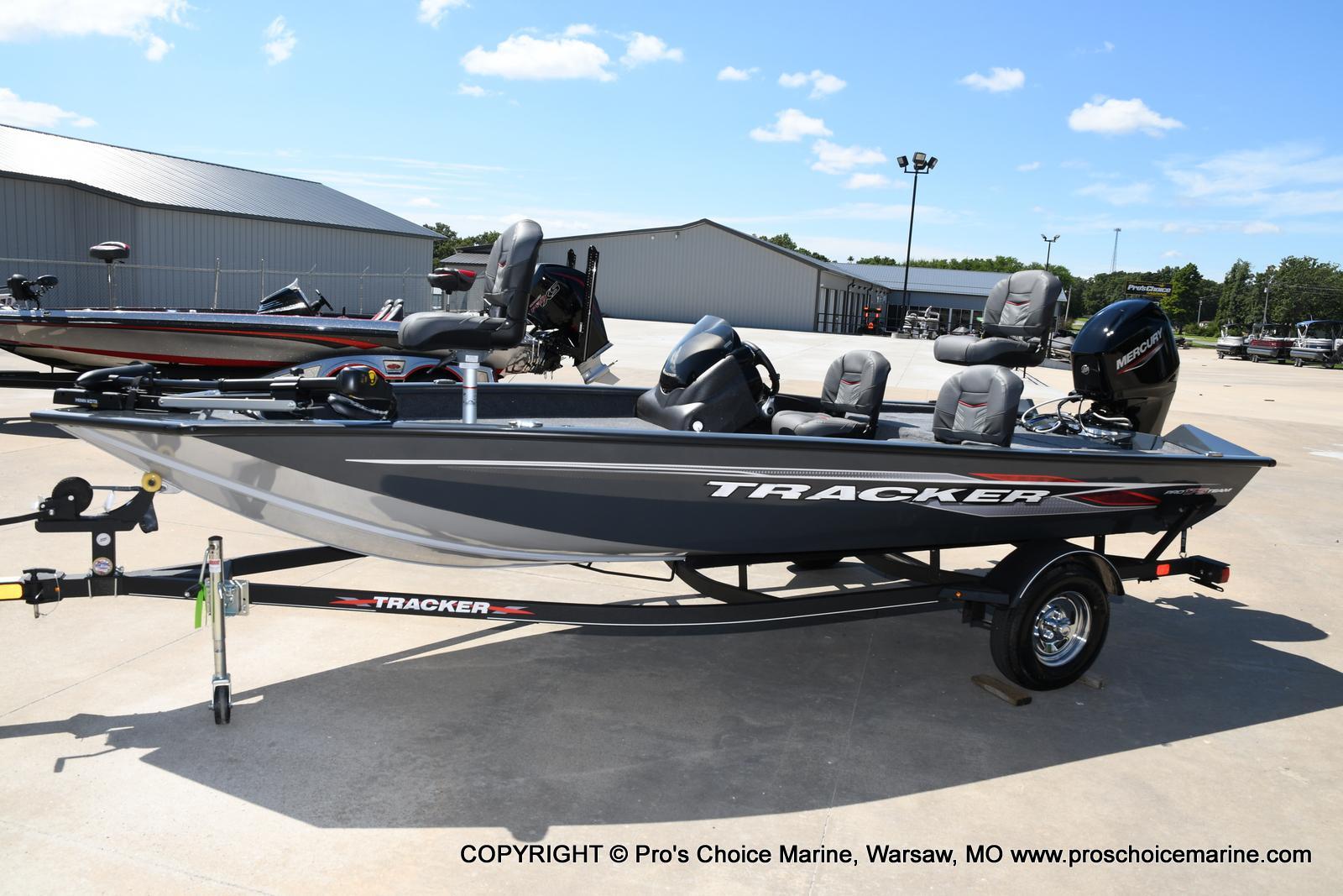 2022 Tracker Boats boat for sale, model of the boat is PRO TEAM 175 TF w/60HP Mercury 4 Stroke & Image # 37 of 50