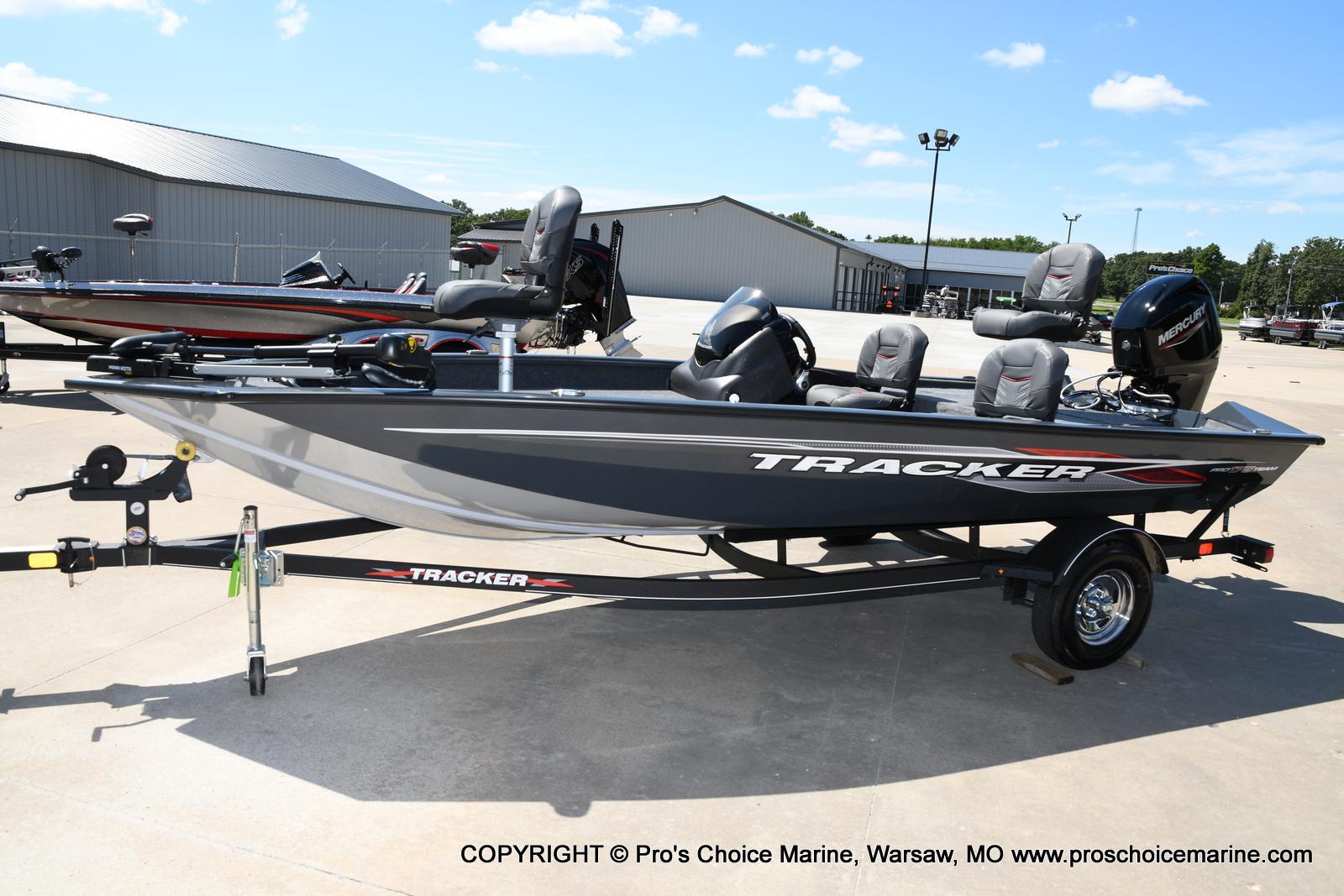 2022 Tracker Boats boat for sale, model of the boat is PRO TEAM 175 TF w/60HP Mercury 4 Stroke & Image # 48 of 50