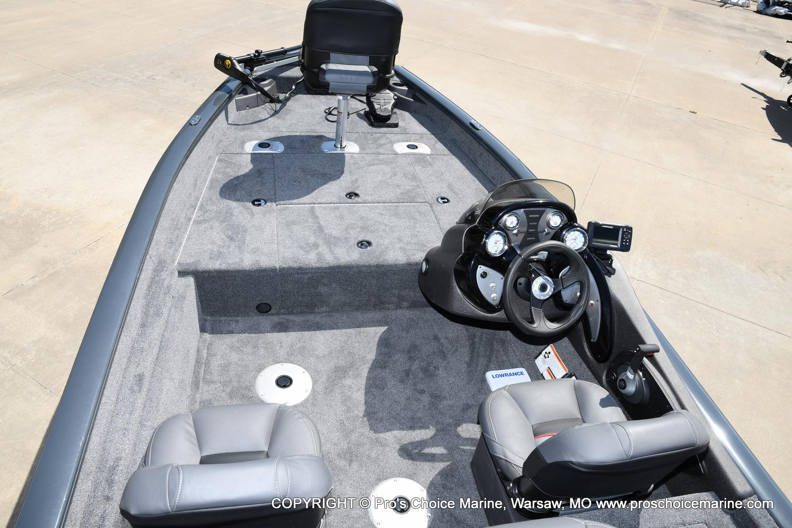 2022 Tracker Boats boat for sale, model of the boat is PRO TEAM 175 TF w/60HP Mercury 4 Stroke & Image # 50 of 50