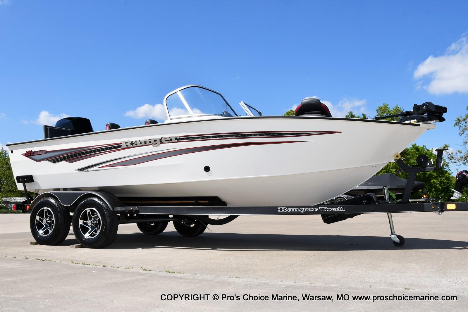2021 Ranger Boats boat for sale, model of the boat is VX1888 WT w/225HP Mercury 4 Stroke & Image # 1 of 50