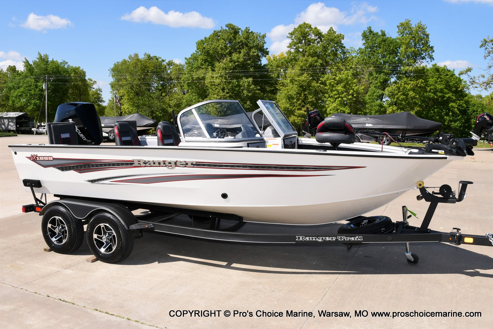 2021 Ranger Boats boat for sale, model of the boat is VX1888 WT w/225HP Mercury 4 Stroke & Image # 15 of 50
