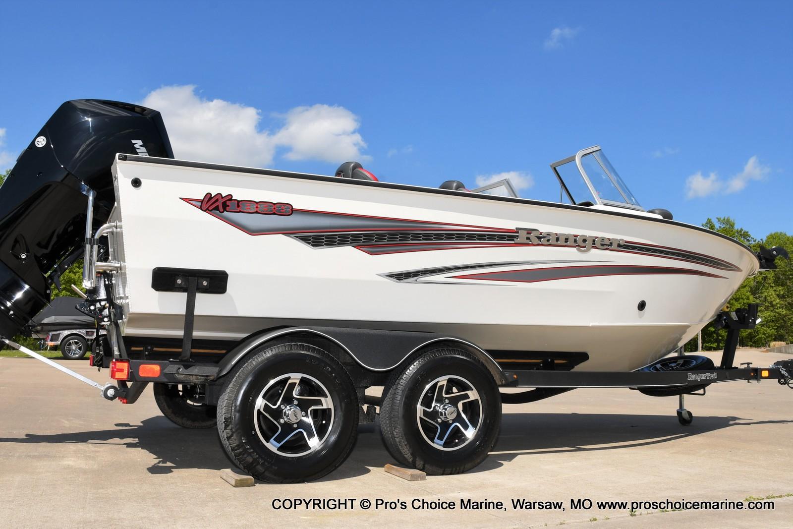 2021 Ranger Boats boat for sale, model of the boat is VX1888 WT w/225HP Mercury 4 Stroke & Image # 2 of 50