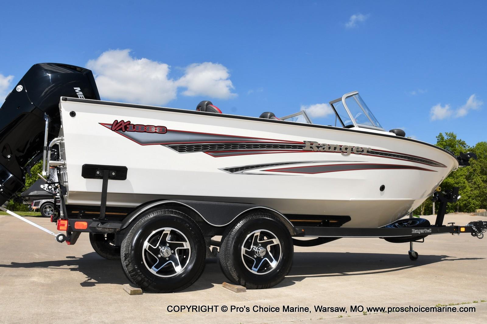 2021 Ranger Boats boat for sale, model of the boat is VX1888 WT w/225HP Mercury 4 Stroke & Image # 24 of 50