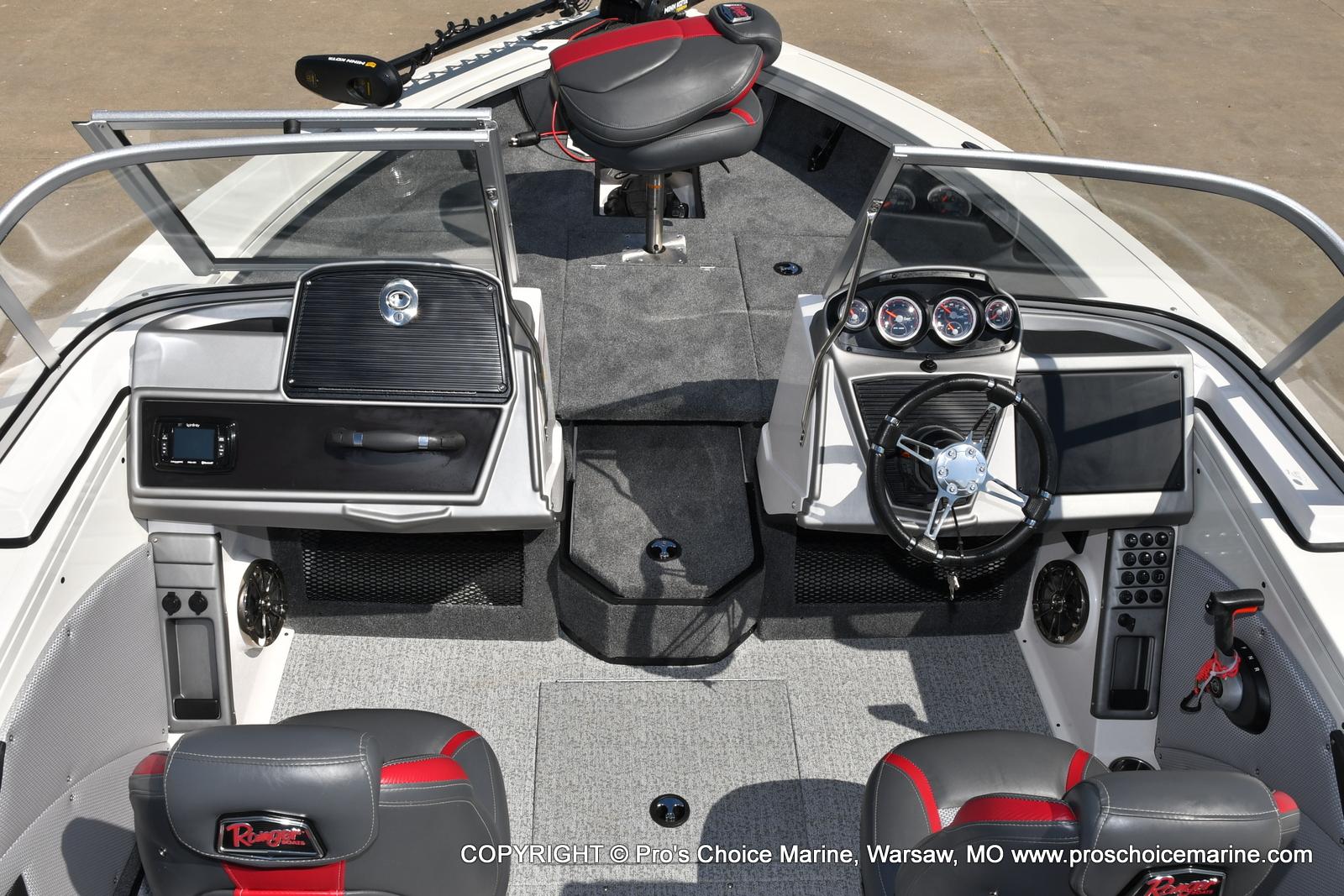 2021 Ranger Boats boat for sale, model of the boat is VX1888 WT w/225HP Mercury 4 Stroke & Image # 29 of 50
