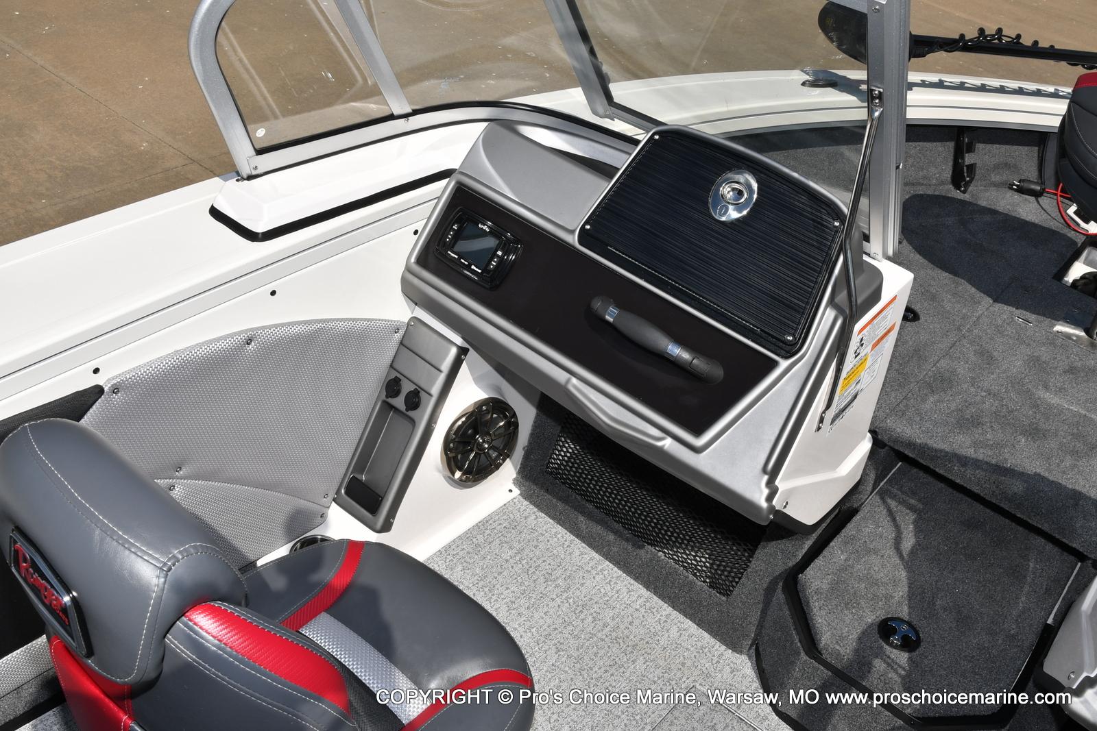 2021 Ranger Boats boat for sale, model of the boat is VX1888 WT w/225HP Mercury 4 Stroke & Image # 31 of 50