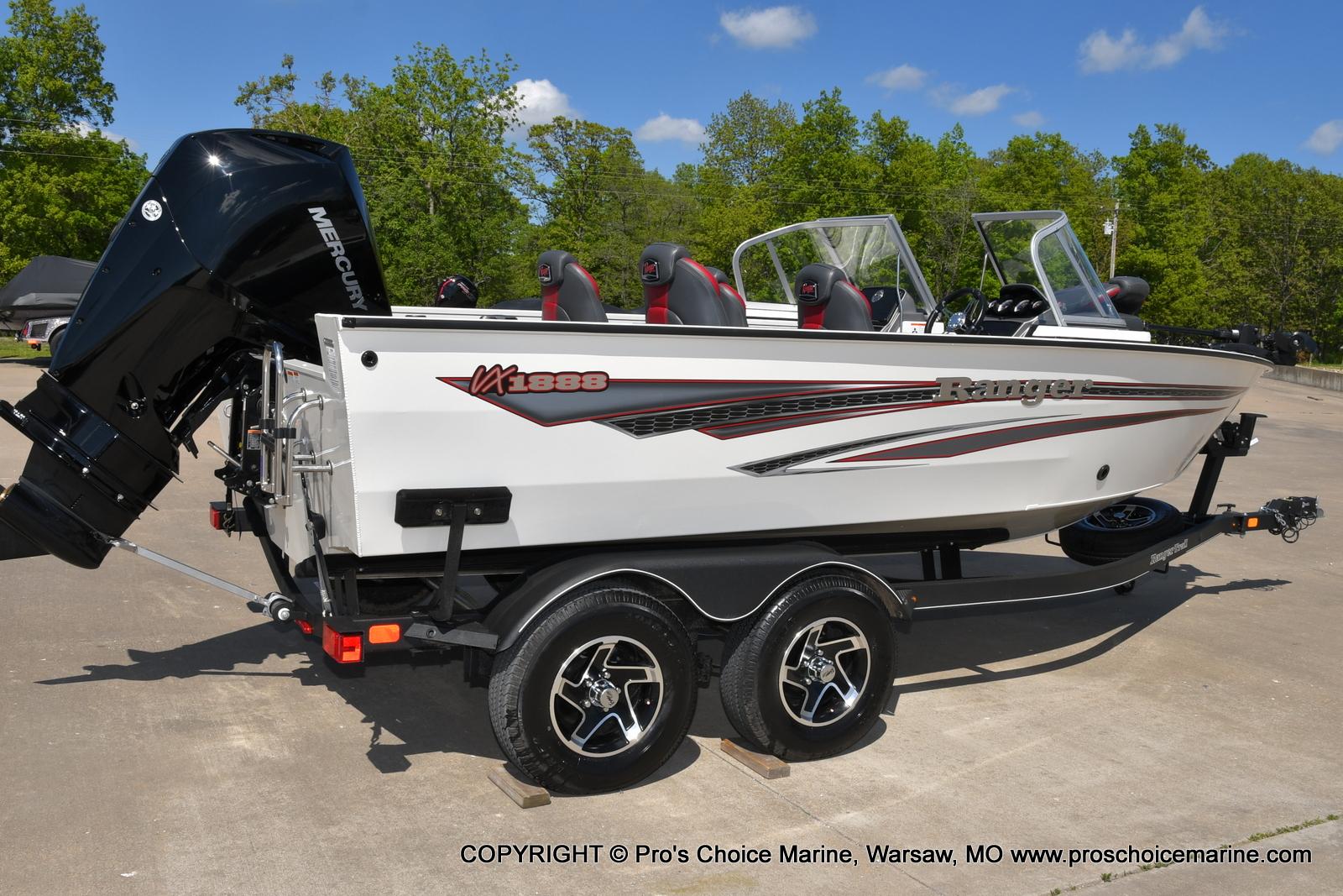 2021 Ranger Boats boat for sale, model of the boat is VX1888 WT w/225HP Mercury 4 Stroke & Image # 40 of 50
