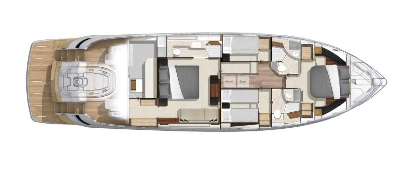 2020 Riviera 6000 Sport Yacht #R090 inventory image at Sun Country Coastal in Newport Beach